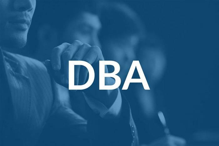 مدرک دوره مدیریت کسب و کار DBA
